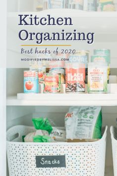Kitchen Organizing- Best Hacks of 2020 - Modified By Melissa New Kitchen Gadgets, Organizing Hacks, Pantry Organization, Keep It Simple, Hot Pads, Organizer, Declutter, Helpful Hints, Diy Projects
