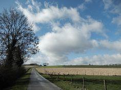Mooie wolken boven de akker in RimburgLandgraaf. - 50plusser.nl