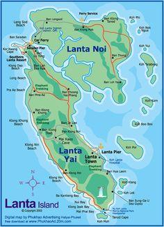 Koh Lanta Island, Thailand in the Andaman Sea
