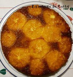 J'ai retrouvé dans mes vieux classeurs, la recette du gâteau à l'envers, à l'ananas que je refais aujourd'hui à l'orange. Ingrédients pour 8 personnes 200 g de beurre 250 g de farine 250 g de sucre 5 œufs 2 C à C d'arôme vanille liquide 3 oranges 1 sachet...