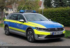 Funkstreifenwagen #FuStW - Polizei #Hannover Misburg - #Testfahrzeug Volkswagen Passat B8 #GTE Variant #elektro
