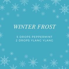 Winter Frost - Essential Oil Diffuser Blend