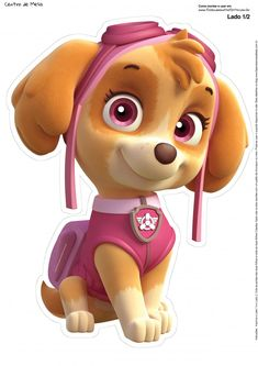 Looking to Meet Your Favorite Paw Patrol Characters? 7 Names to Know: Marshall from Paw Patrol Sky Paw Patrol, Paw Patrol Party, Skye Paw Patrol Cake, Personajes Paw Patrol, Imprimibles Paw Patrol, Paw Patrol Clipart, Paw Patrol Birthday Theme, Cumple Paw Patrol, Party Printables