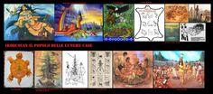Cerimonie, assemblee, miti e leggende degli iroquoian. Dai concili tribali alle cerimonie religiose al mito creazione, all'origine dei clan e delle confederazioni.