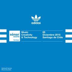 adidas Originals tiene una mega sorpresa en Sónar Santiago además de un par de entradas para ti