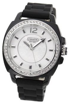 Coach $145.80 Crystal Signature Silicon Strap $180
