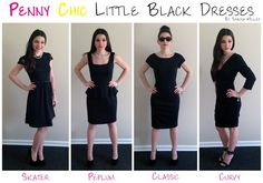 Penny Chic Little Black Dresses by Shauna Miller