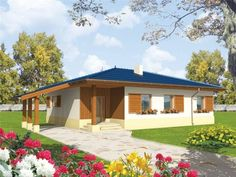 Case la tara pentru parinti. Primitoare pentru stilul de viata visat 3d Home, Design Case, Gazebo, House Plans, Villa, Outdoor Structures, Outdoor Decor, Exterior, Home Decor