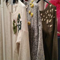 Últimos! !!! Nuestros jerseys bordados a mano!! #designer #embroidery #bordadoamano #nuevacoleccion #handmade
