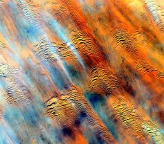 #Africa #EarthArt Earth without art is just Eh. #YearInSpace   #space #spacestation #iss #earth #art by stationcdrkelly http://ift.tt/1UrNdAD