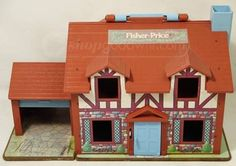 Fisher Price Toys Portable Folding Doll House