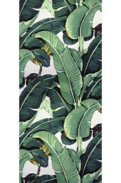 palm-leaf motif wallpaper - Google Search