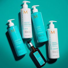 Healing, renewing, hydrating and more: We're loving @moroccanoil products for all they do for our strands! Plus, have you smelled them?