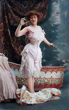 Ladies Boutique, Vintage Photos, Victorian, Lingerie, Lady, Dresses, Women, Fashion, Vestidos