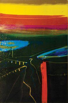 barbara rae Abstract Landscape, Landscape Paintings, Barbara Rae, West Coast Of Ireland, Glasgow School Of Art, Royal Academy Of Arts, Encaustic Art, Artist Profile, Love Painting