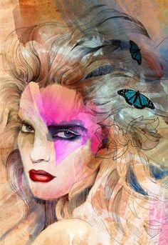 Fashion illustrations by Robert Tirado - Pelfind