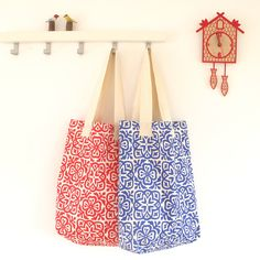 Helen Rawlinson Lighting and Textile Design: Tea Towel Tote Tutorial