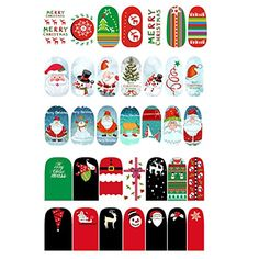 Naimo 5 Pack Halloween False Nail Art Sticker Wrap Nail Stickers Decals Nail Stickers Decorations Tips >>> More info could be found at the image url. Note:It is Affiliate Link to Amazon.