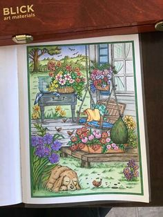 Farm Coloring Pages, Creative Haven Coloring Books, Autumn Scenes, Country Scenes, Mandalay, Country Charm, Heart For Kids, Colouring, Color Inspiration