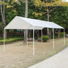 Heavy Duty Steel Carport are rising in popularity than garages on account of several causes like sturdiness, ease of meeting and maintenance, expandability, decrease cost, area flexibility, good air flow, and neatness. It functions the identical method in giving protection to your automobiles, vans, trucks and other kinds of vehicles from vagaries of nature like […] Carport Prices, Carport Sheds, Carport Plans, Double Carport, Wooden Carports, Steel Carports, Car Shed, Shed Roof