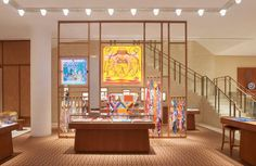 Hermès Opens Huge New Las Vegas Store | PurseBop Hermes Store, Parisian Style, Open Up, Shopping Mall, The Expanse, Las Vegas, Luxury, House Styles, Shopping Center