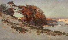 Early Snow, Westmorland, Cumbria - Edward Harrison Compton