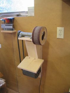 "ABSOLUTELY ""Next Project"" worthy ! Pneumatic Drum Sander for Andy Boxes - by Bearpaw @ LumberJocks.com ~ woodworking community"