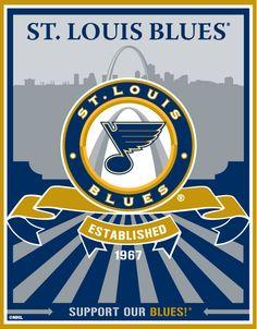 St Louis Blues Speakman