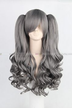 Lolita Long curly Dark Grey Cosplay Wig http://www.joyfay.com/us/lolita-long-curly-dark-grey-cosplay-wig-cosplay-accessory.html