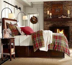 inspiracje w moim mieszkaniu: Szkocka krata we wnętrzach / Plaid indoors
