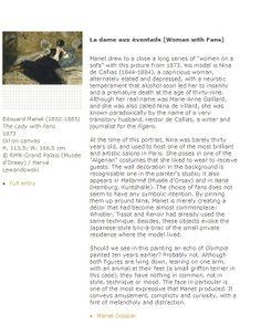 Manet info