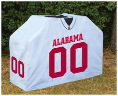Alabama Crimson Tide Deluxe Jersey Grill Cover