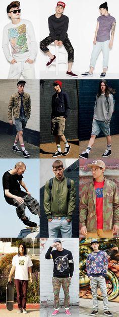 Men's Streetwear and Skate Inspired Lookbook... SS13! DOPE!!!