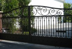 Angels Ornamental Iron - since Orange County, CA's best choice for ornamental wrought iron driveway gates.