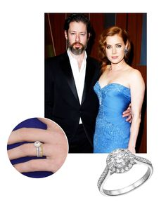 Get their style, celebrity engagement rings. Amy Adams engagement ring.