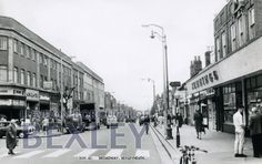 Broadway, Bexleyheath...it hadn't changed that much by the 60s and 70s.