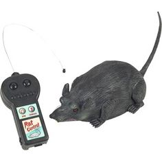 Remote Control Rat for Rat Race game