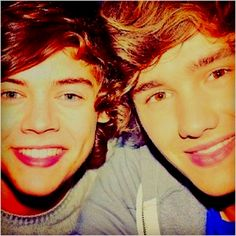 Harry Styles and Liam Payne..... my favorites from One Direction<3