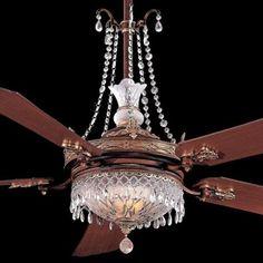 Unique Ceiling Fans With Chandeliers Ornate Fan Light Chandelier Kit