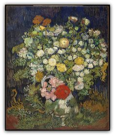 Bouquet of Flowers in a Vase Vincent van Gogh  (Dutch, Zundert 1853–1890 Auvers-sur-Oise)