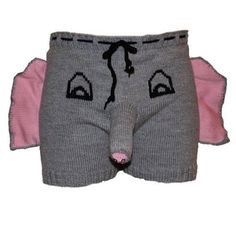 Elephant Boxers, boyfriend gift, funny gift for men, Valentines Day gift for him