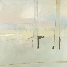 TREES IN ART • L'ARBRE DANS L'ART | Basil Blackshaw (Irish, born193, Two Trees, oil on...