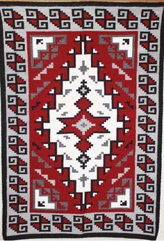 Ganado Navajo Rug Authentic Native American Vintage Rugs For Navajorug