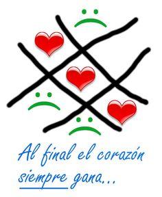 Y al final de todo, el corazón siempre gana...