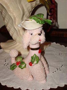 Poodle Dogs Christmas poodle - vintage poodle dress for xmas Poodle Dress, Pink Poodle, I Love Dogs, Cute Dogs, Awesome Dogs, Poodle Cuts, French Poodles, Standard Poodles, Tea Cup Poodle