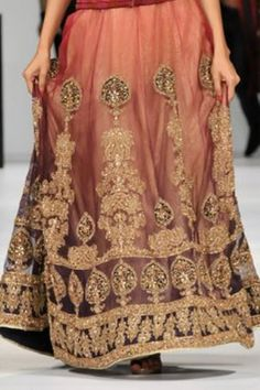 Lovely zardozi (Indian gold embroidery)