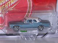 Johnny WHITE Lightning 1962 Plymouth Belvedere 62 Mopar Or No Car 1:64 Scale