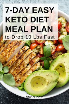 easy keto diet meal plan to lose 10 lbs fast. Whether you're new to the keto diet, or need a sample ketogenic diet meal plan sample, we've got a simple keto meal plan for weight loss you. easy keto diet meal plan to lose 10 lbs fast. Easy Keto Meal Plan, 7 Day Meal Plan, Diet Meal Plans To Lose Weight, Weight Loss Meals, Ketogenic Diet Meal Plan, Ketogenic Diet For Beginners, Ketogenic Recipes, Diet Recipes, Losing Weight