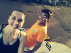 With my sup instructor Don