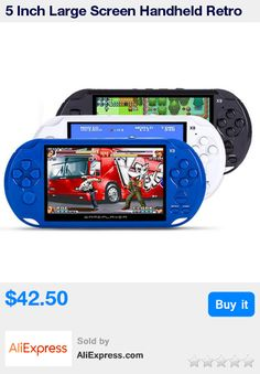 5 Inch Large Screen Handheld Retro Game Console Video Game player Support MP3 Player/Camera for GBA/NES games download * Pub Date: 11:12 Oct 22 2017
